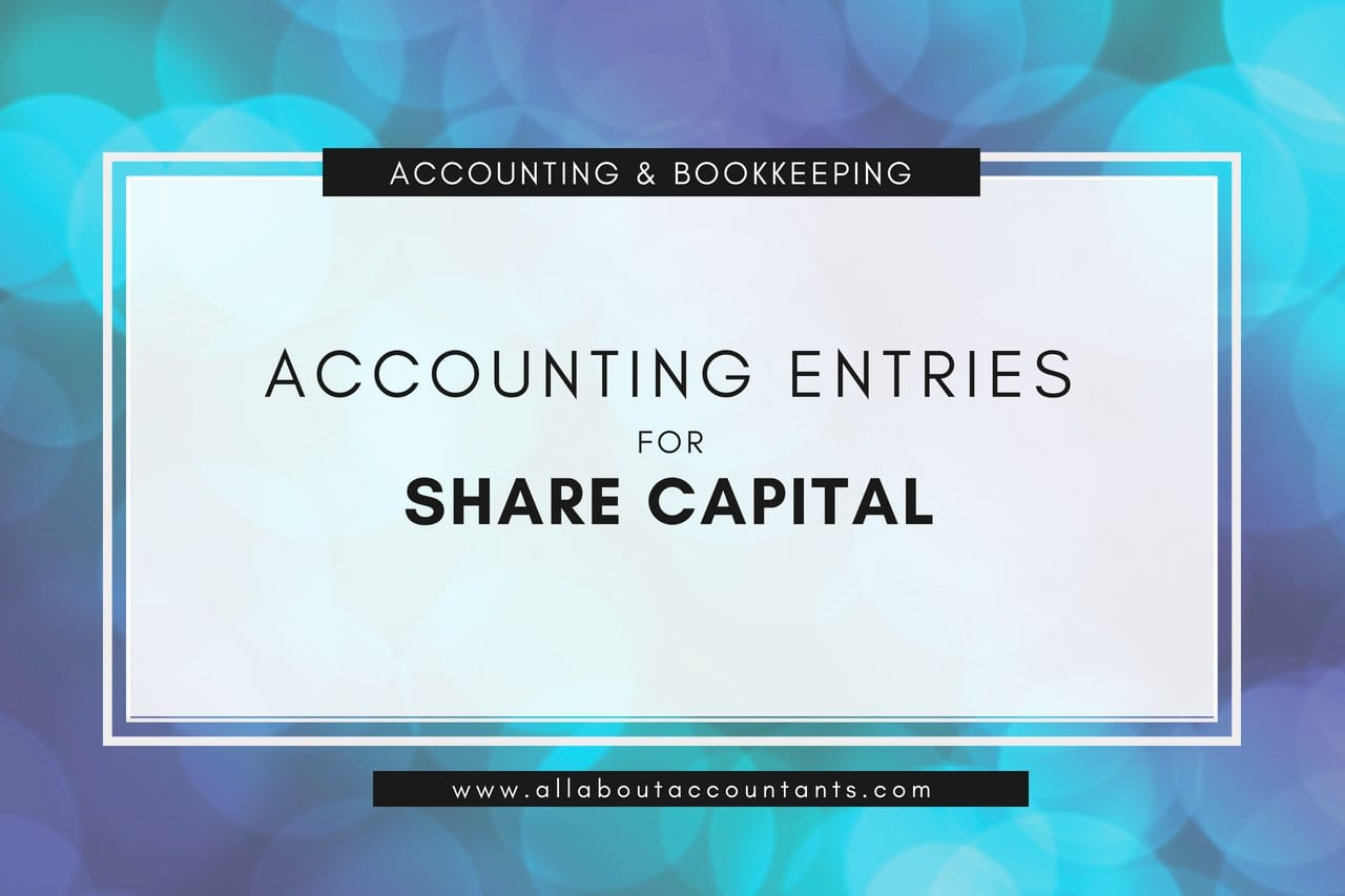 Double Entry Share Capital