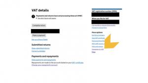how to deregister for VAT