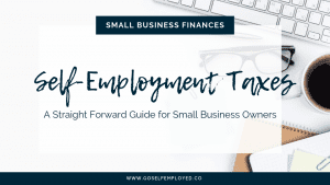 tax and national insurance if you're self-employed