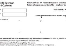 What is a P11d(b) Form