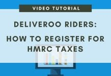 Here's How To Register For Taxes When You Become a Self Employed Deliveroo Rider