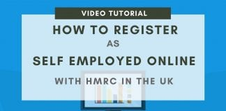 How to register as self employed online in the UK