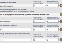 P11d Form Section I: Private Medical Insurance