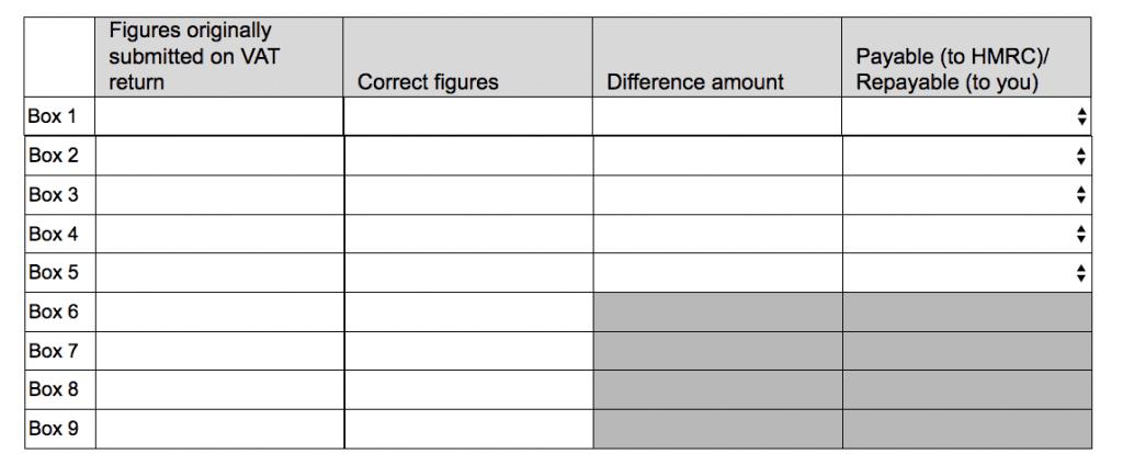 Form VAT652 reclaim VAT