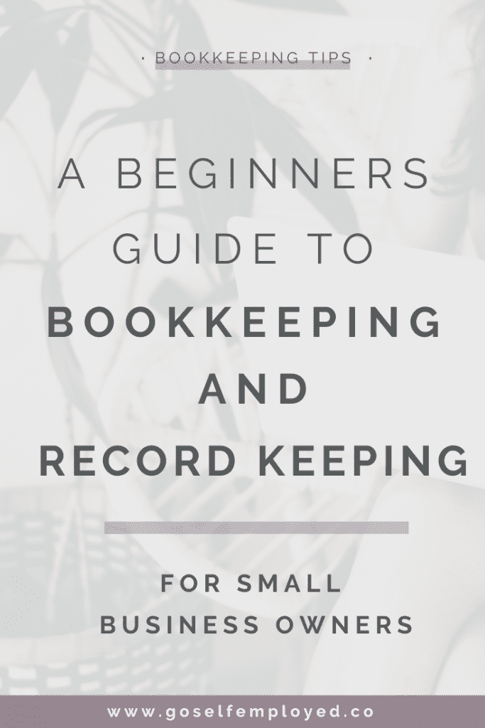 bookkeeping and record keeping for small business owners