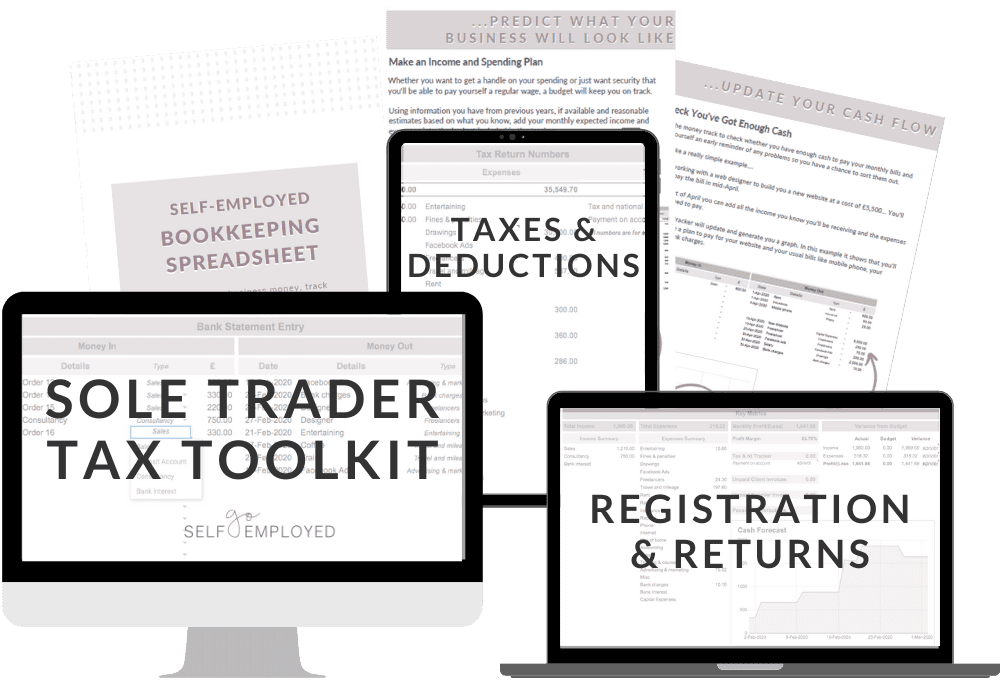 sole trader tax toolkit
