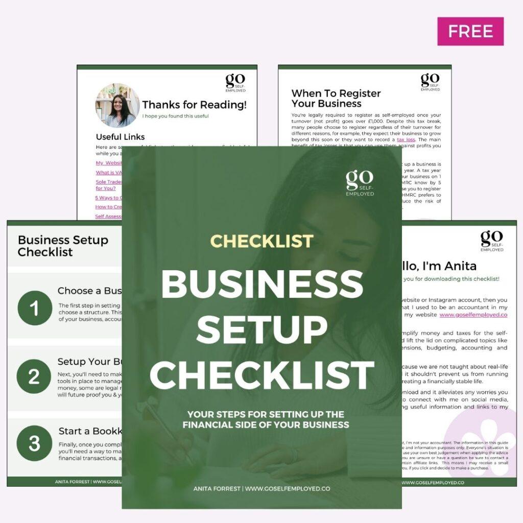 business setup checklist