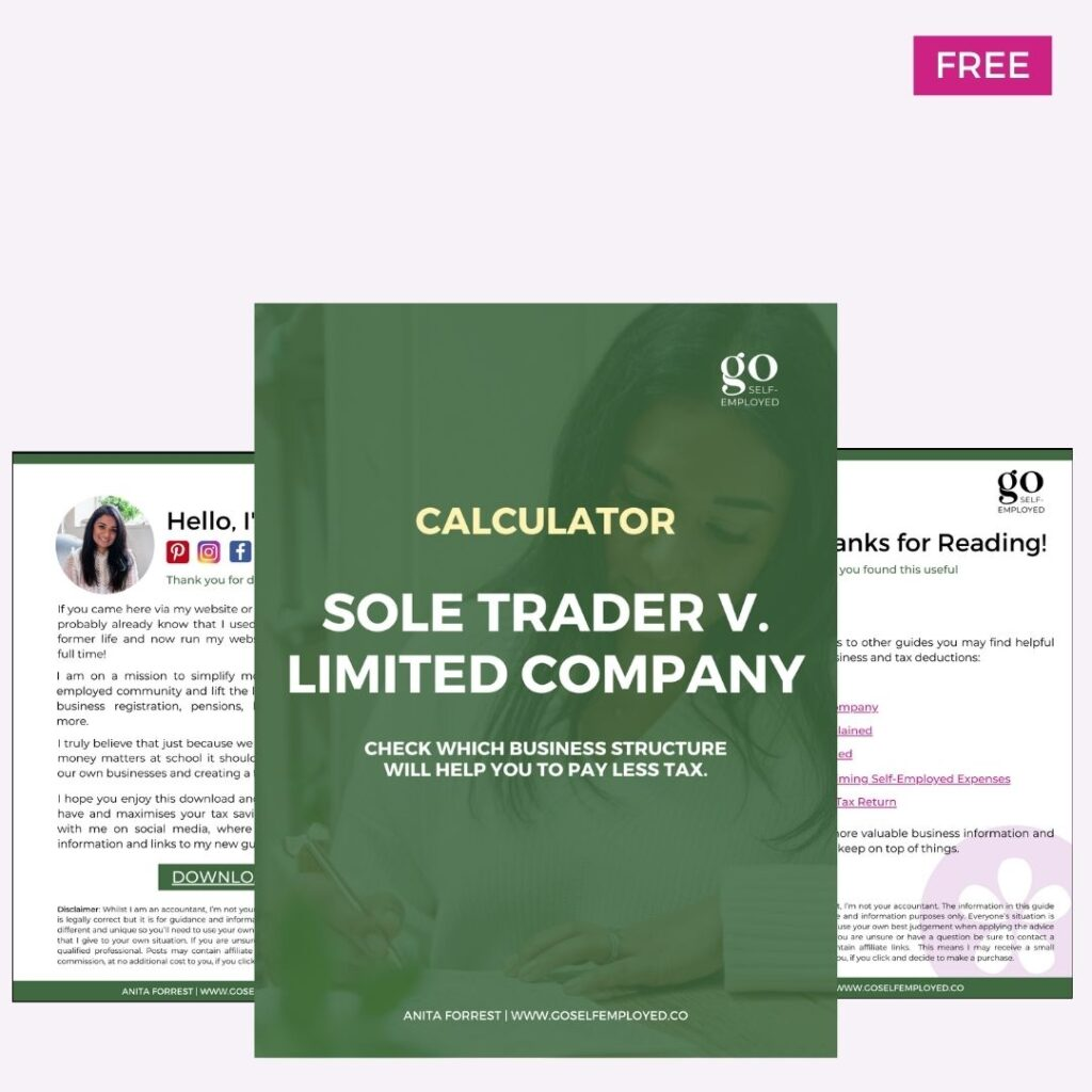 sole trader v limited company download